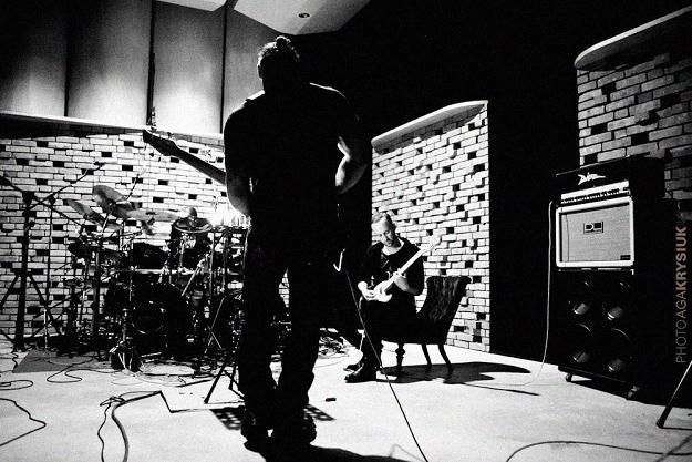 Behemoth w studiu - fot. Agnieszka Krysiuk /