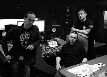 Behemoth w studiu /