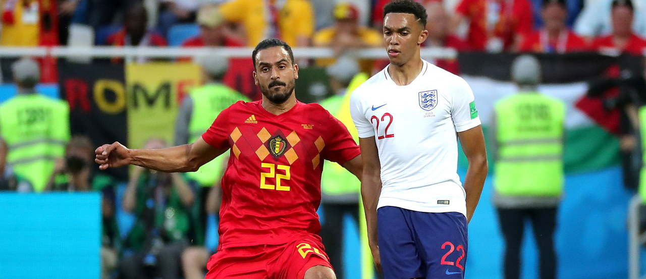Belgia bez kalkulacji pokonuje Anglię!