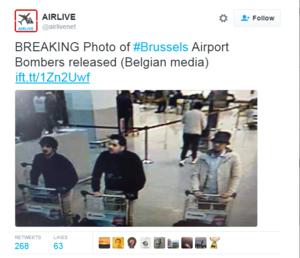 Belgia: Opublikowano zdjęcia trzech podejrzanych o zamachy