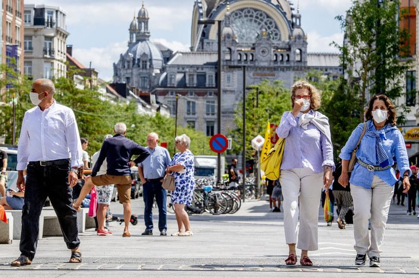 Belgia podczas pandemii koronawirusa, zdj. ilustracyjne /Robin Utrecht/SOPA Images/LightRocket /Getty Images