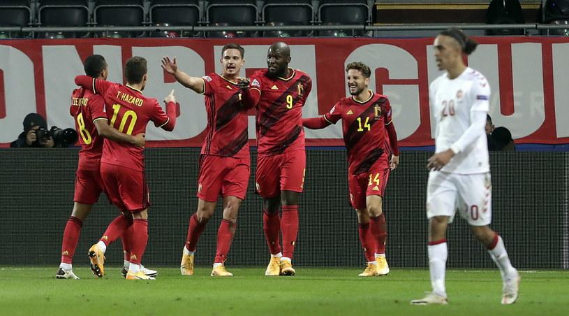 Belgia pokonała Danię 4-2 /OLIVIER HOSLET /PAP/EPA