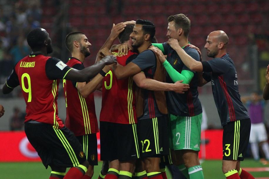 Belgia pokonała w niedzielę Grecję 2:1 i została pierwszym europejskim zespołem, który wywalczył awans do MŚ 2018 w Rosji /PANAGIOTIS MOSCHANDREOU /PAP/EPA