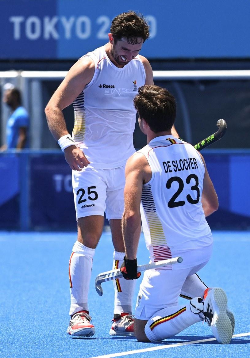 Belgia w półfinale hokeja na trawie. Tokio 2020 /ZUMA /Newspix