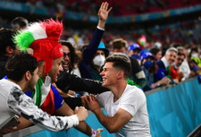"""Belgia - Włochy. Włoskie media zachwycone ekipą Manciniego! """"Kolejna magiczna noc"""""""