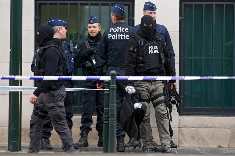 Belgijska prokuratura poinformowała o postawieniu zarzutów trzeciemu mężczyźnie, podejrzanemu o działalność terrorystyczną ws. ataku terrorystycznego udaremnionego we Francji /EPA/LAURENT DUBRULE /PAP/EPA