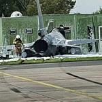Belgijski F-16 wbił się w budynek. Co dalej z ich flotą?