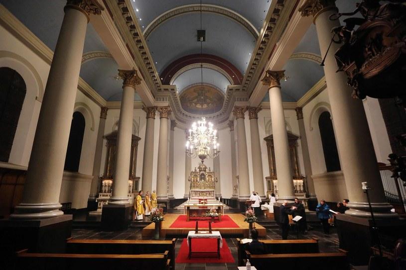 Belgijski kościół, zdjęcie ilustracyjne /RAMON MANGOLD/Dolf /AFP