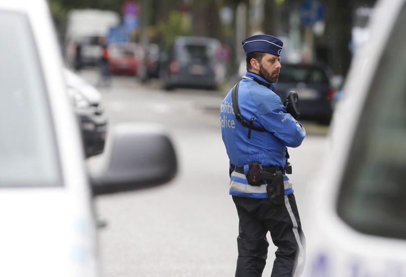 Belgijskie media informują, że terroryści planowali w sobotę atak w Brukseli /EPA/OLIVIER HOSLET /PAP/EPA