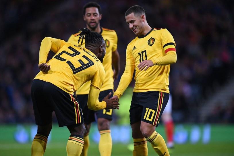 Belgowie mają powody do zadowolenia, są na szczycie rankingu FIFA /AFP