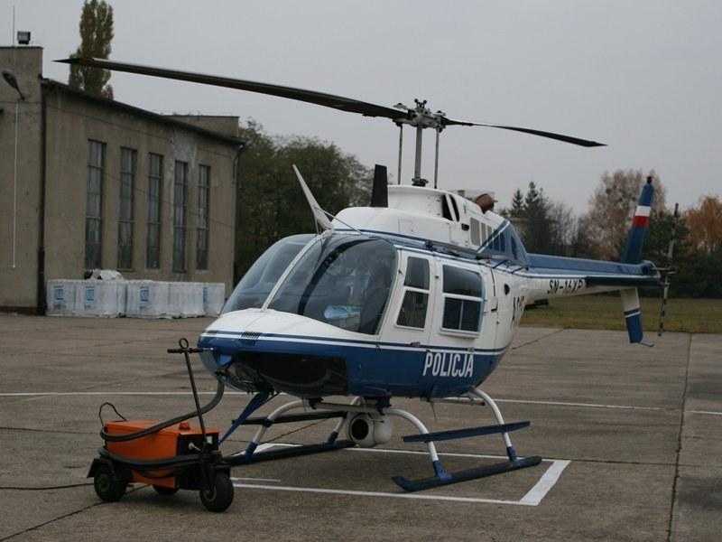 Bell 206B-III Jet Ranger /Policja