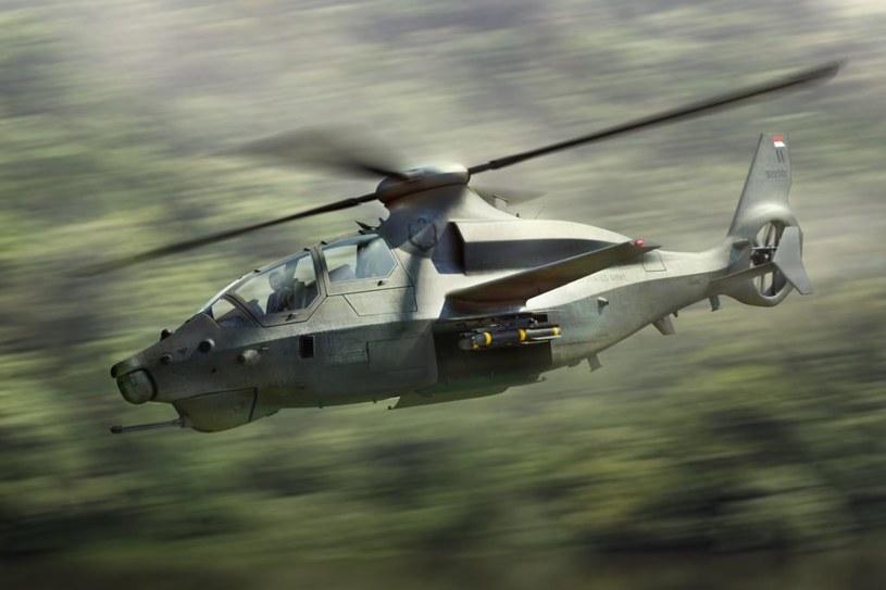 Bell 360 Invictus zostanie uzbrojony w 20-mm działko umieszczone na dziobie. Pociski rakietowe i bezzałogowe statki latające będą przenoszone w wewnętrznych komorach, co zmniejszy opór aerodynamiczny / Bell Helicopter  /materiały prasowe