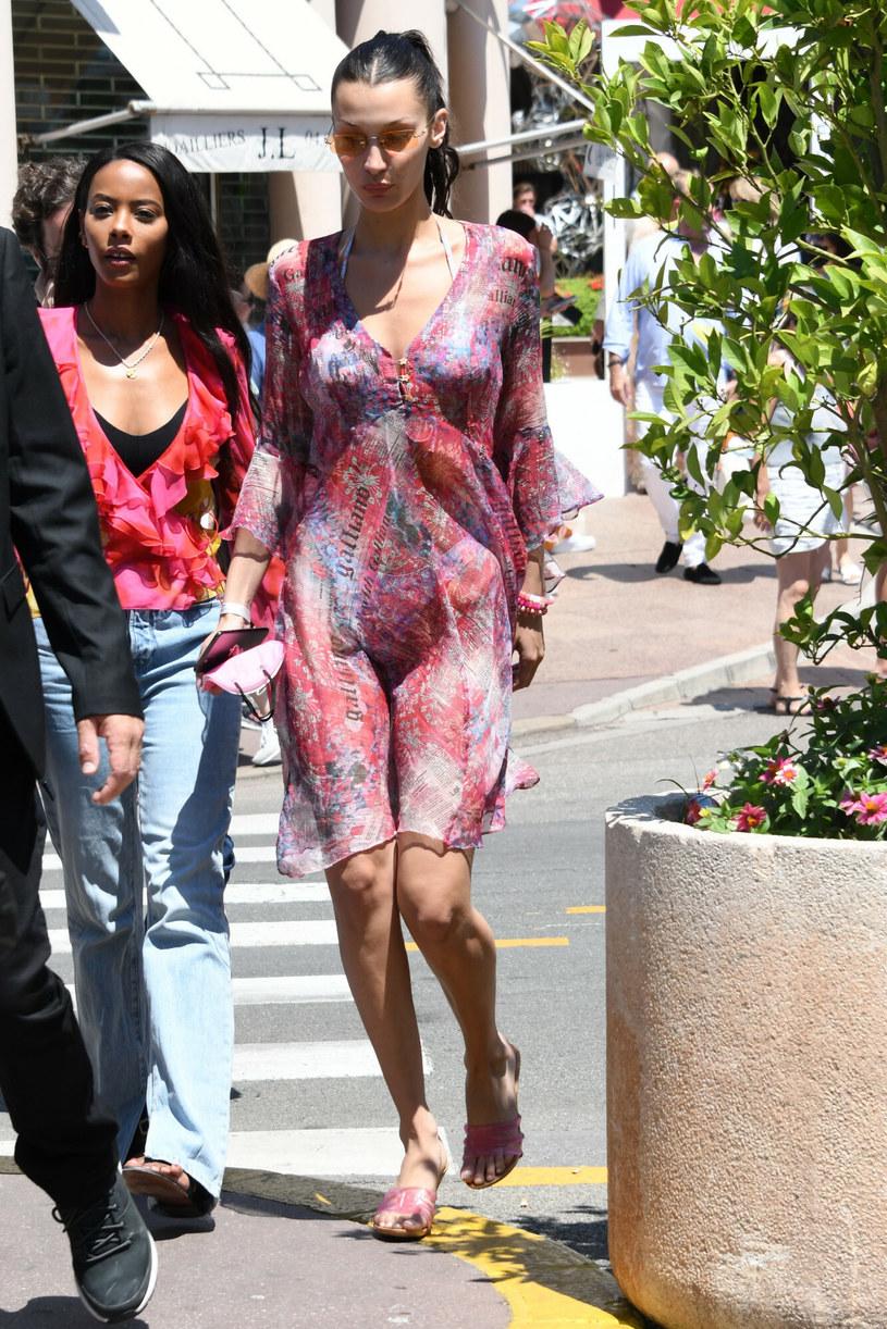 Bella Hadid w Cannes /Gigi Iorio / SplashNews.com /East News