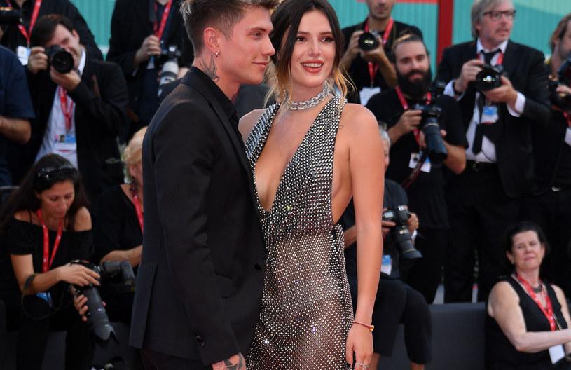 Bella Thorne na Festiwalu Filmowym w Wenecji /Daniele Venturelli /Getty Images