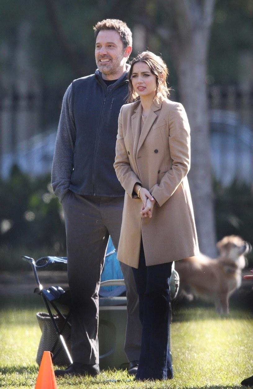 Ben Affleck i Ana de Armas przyłapani razem /BACKGRID /Agencja FORUM