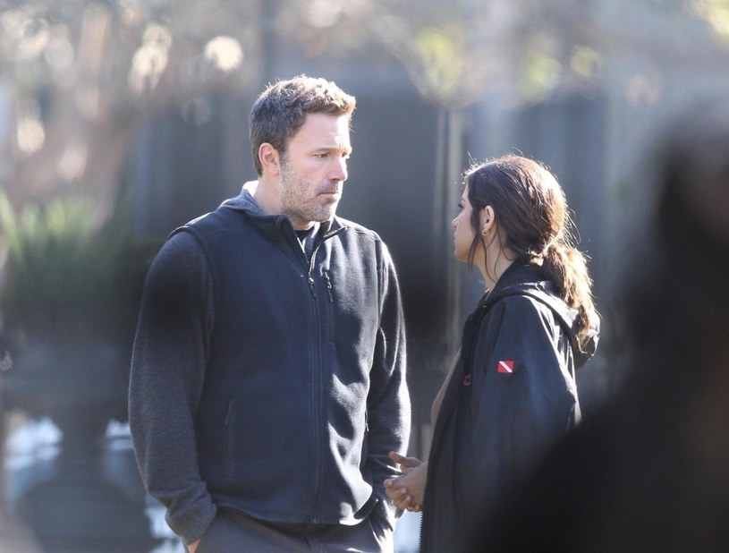 Ben Affleck i Ana de Armas /BACKGRID /Agencja FORUM