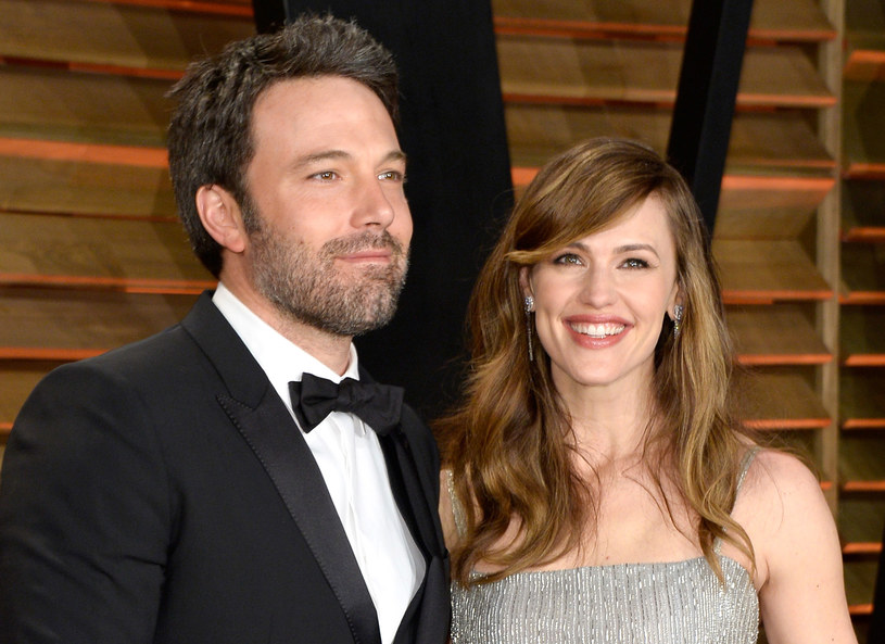 Ben Affleck i Jennifer Garner - jeszcze jako para /Getty Images