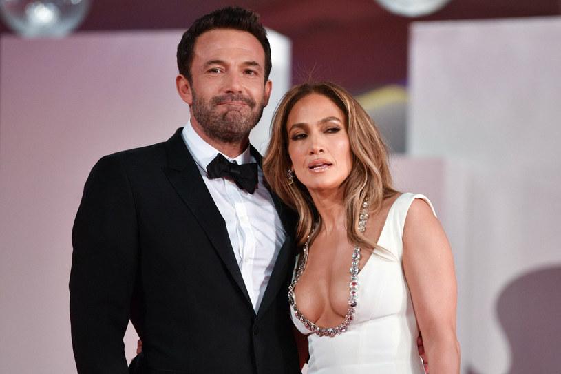 Ben Affleck i Jennifer Lopez /FILIPPO MONTEFORTE /East News