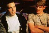 """Ben Affleck i Matt Damon w filmie """"Buntownik z wyboru"""" /INTERIA.PL"""