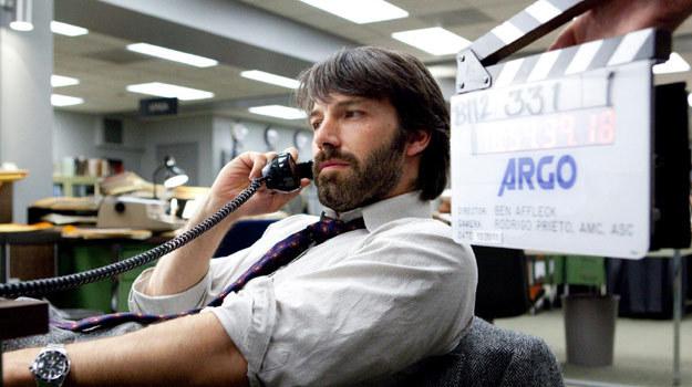 """Ben Affleck nie tylko wyreżyserował """"Operację Argo"""", lecz także zagrał główną rolę /materiały dystrybutora"""