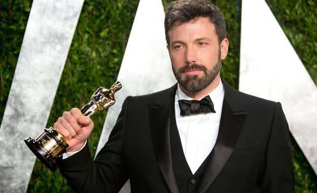 """Ben Affleck z Oscarem za film """"Operacja Argo"""" /AFP"""