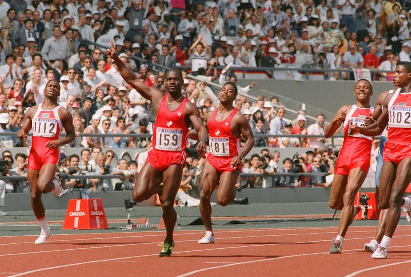 """Ben Johnson wygrał """"setkę"""" w Seulu, ale stracił złoty medal /AFP"""