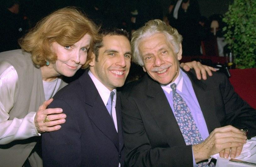 Ben Stiller i jego rodzice Anne Meara i Jerry Stiller (1996) /Richard Corkery/NY Daily News Archive /Getty Images