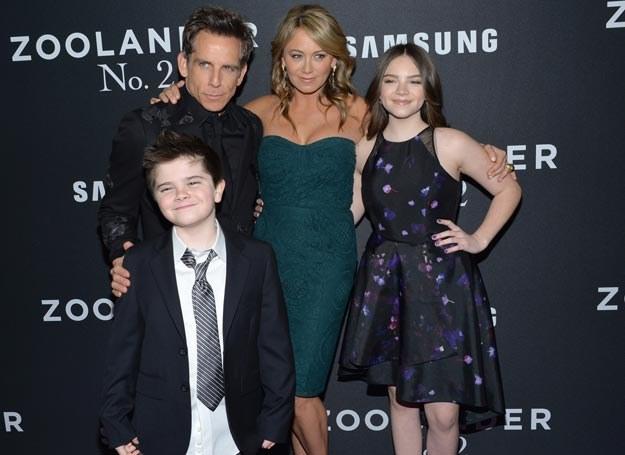 Ben Stiller z rodziną /Invision /East News