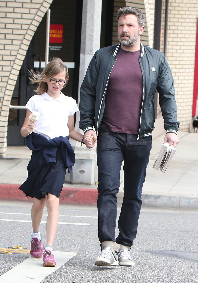 Ben z córką /East News