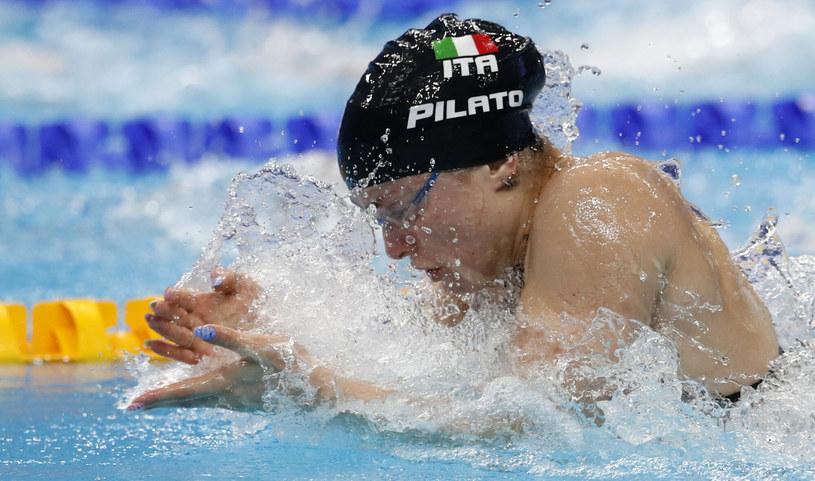 Benedetta Pilato pobiła rekord w wieku zaledwie 16 lat /AP/Associated Press/East News /East News