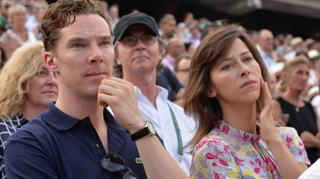 Benedict Cumberbatch i Sophie Hunter /Gouhier Nicolas/ABACA /East News