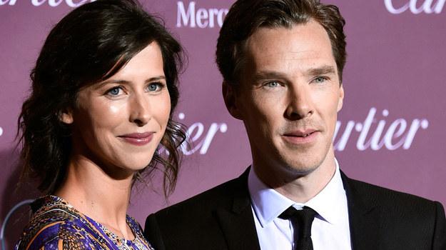 Benedict Cumberbatch i Sophie Hunter /Frazer Harrison /Getty Images
