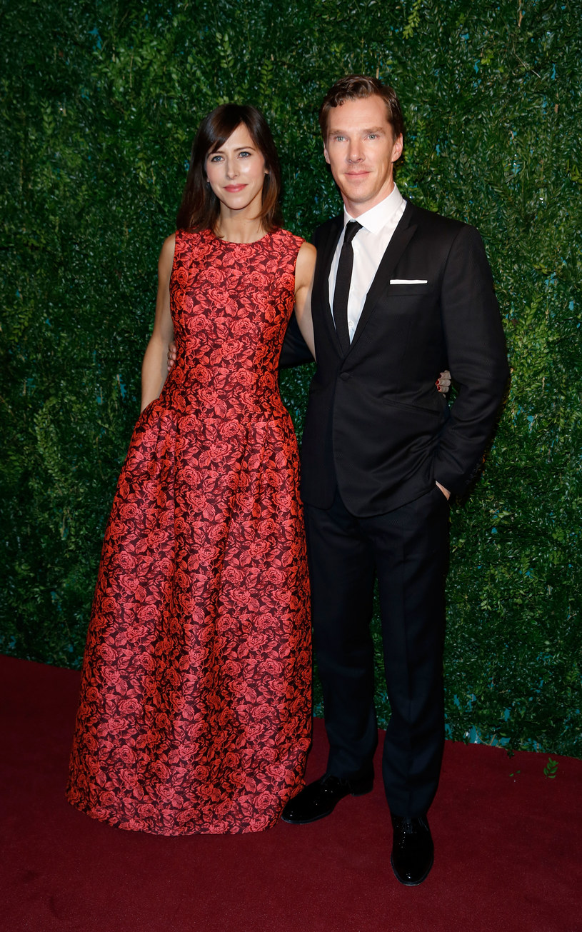 Benedict Cumberbatch i Sophie Hunter /Tim P. Whitby /Getty Images