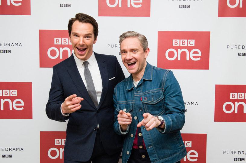 Benedict Cumberbatch, Martin Freeman /Jeff Spicer /Getty Images