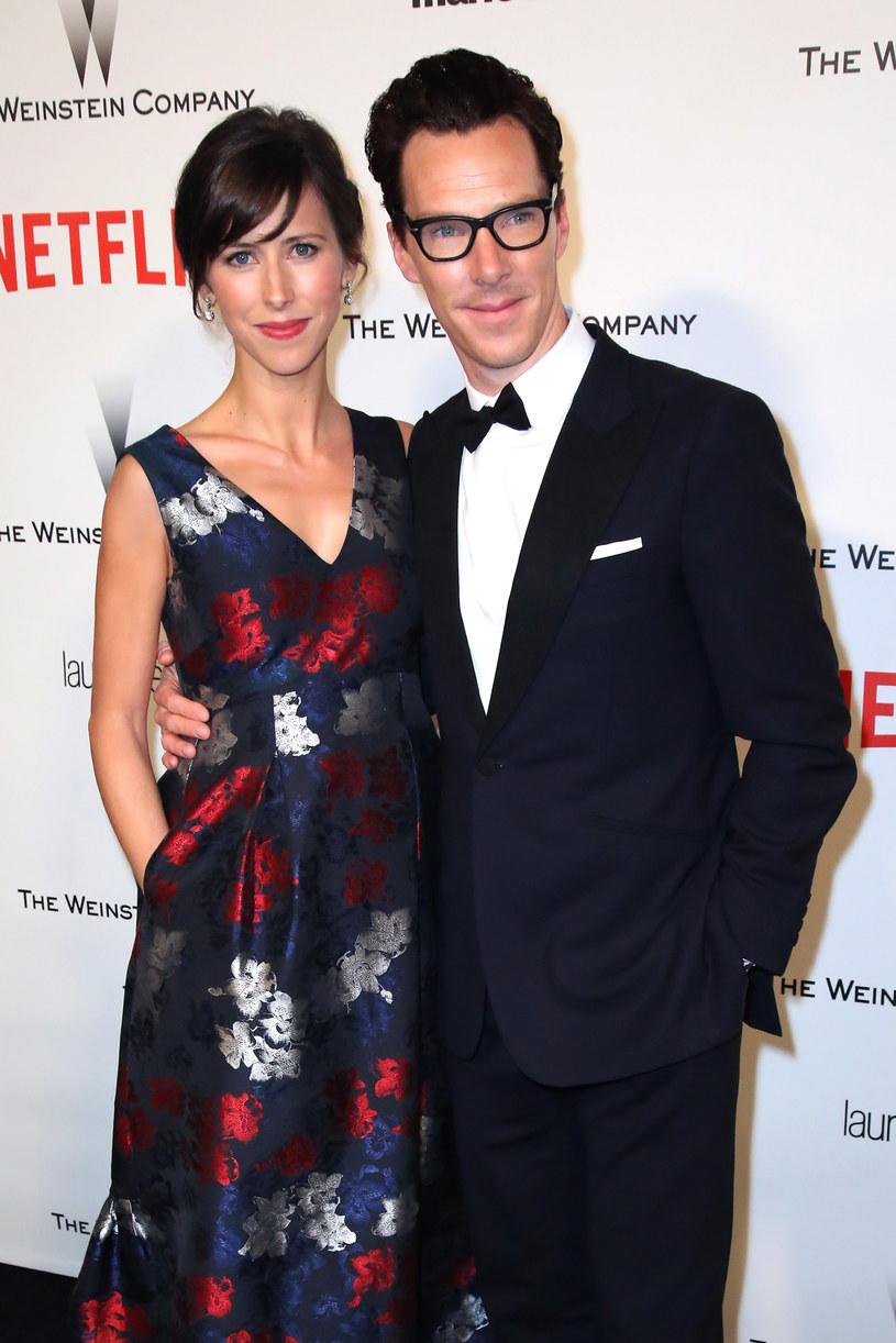 Benedict Cumberbatch z żoną /Ari Perilstein /Getty Images