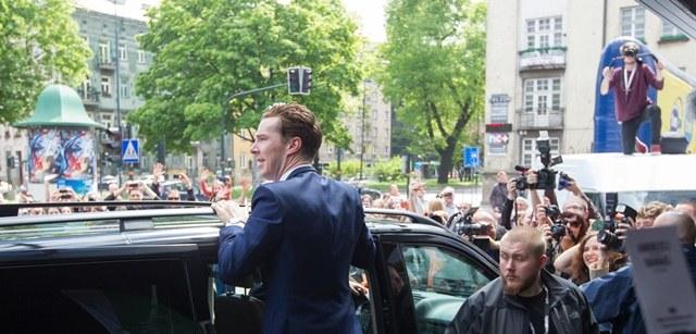 Benedict Cumberbatch /Andrzej Grygiel /PAP