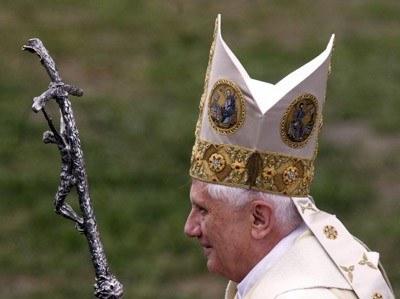 Benedykt XVI - fot. Piotr Bławicki /Agencja SE/East News