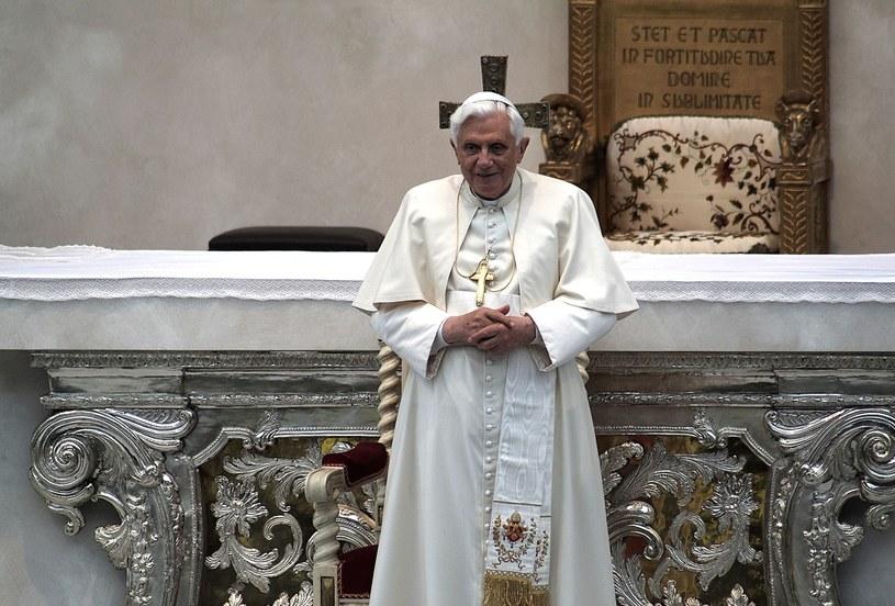Benedykt XVI - papież senior /123RF/PICSEL