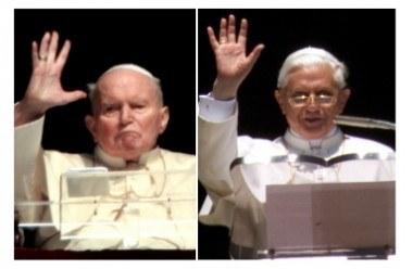 Benedykt XVI wciąż przypomina o swoim wielkim poprzedniku /AFP