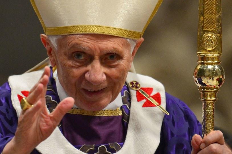 Benedykt XVI, zdjęcie pochodzi z 2013 roku /GABRIEL BOUYS /AFP