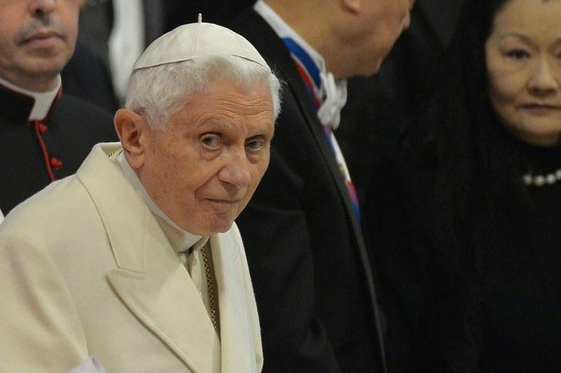 Benedykt XVI /AFP
