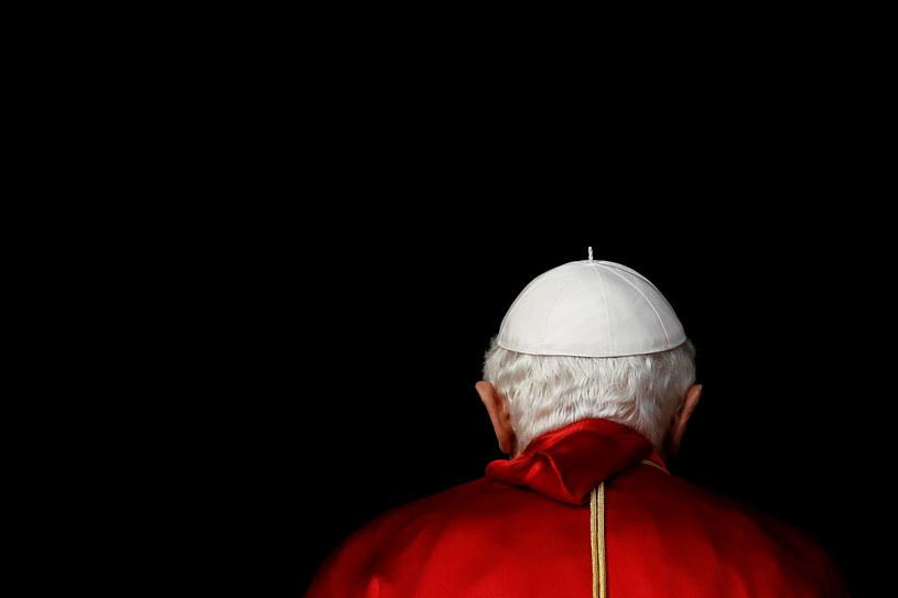 Benedykt XVI /Stefan Wermuth/Reuters /Agencja FORUM