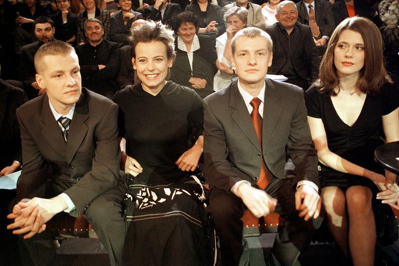 """Benefis """"M jak miłość"""", 2004 rok /Grzegorz Kozakiewicz /AKPA"""