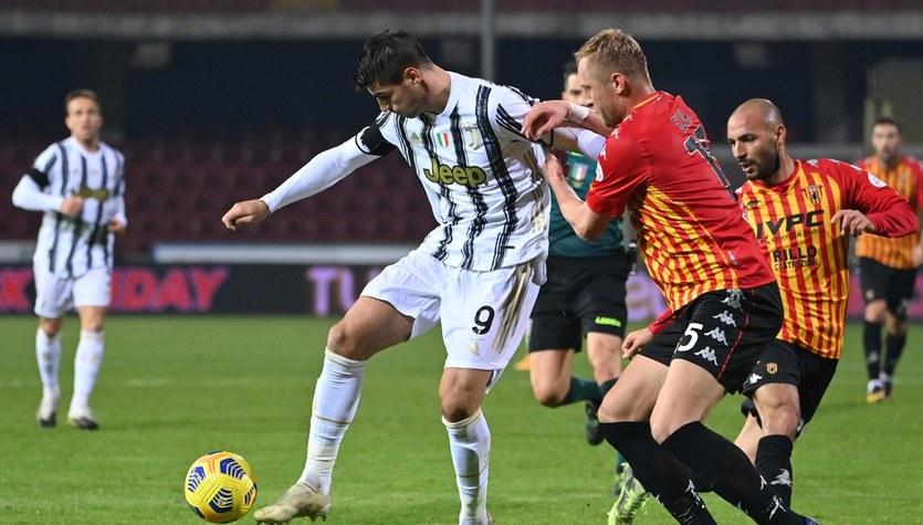 Benevento - Juventus 1-1 w meczu 9. kolejki Serie A