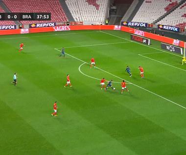 Benfica Lizbona - SC Braga 2-3 w lidze portugalskiej. Kuriozalny błąd bramkarza. Wideo