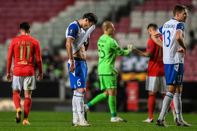 Benfica udzieliła Lechowi srogiej lekcji futbolu /AFP