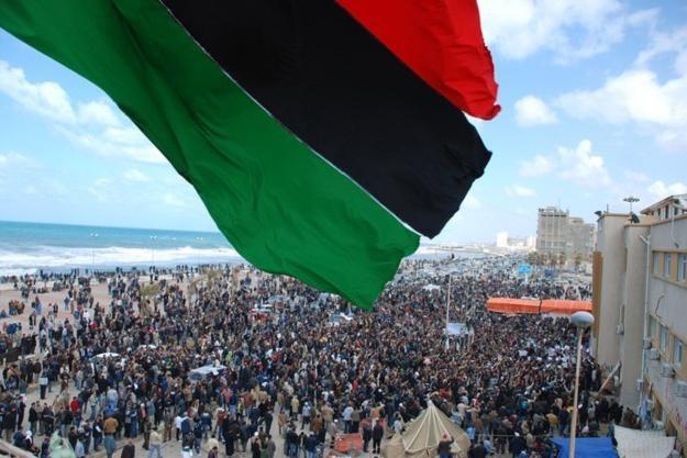 Benghazi - tam zaczęła się rewolucja w Libii /RMF
