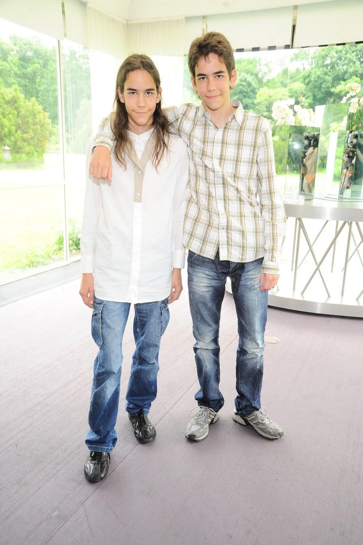 Beniamin i Emanuel Gawlińscy w 2010 r. /Piotr Wygoda /East News