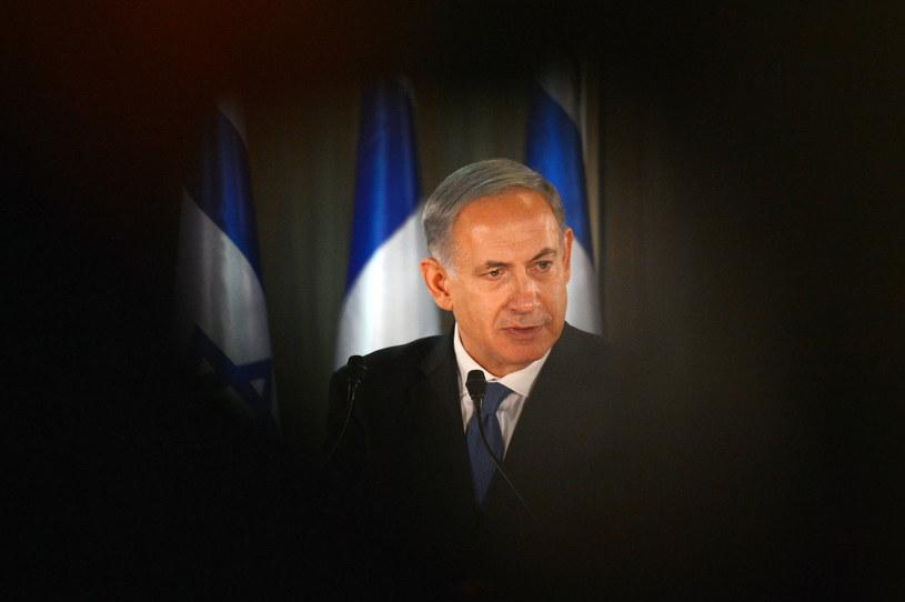 Beniamin Netanjahu /AFP