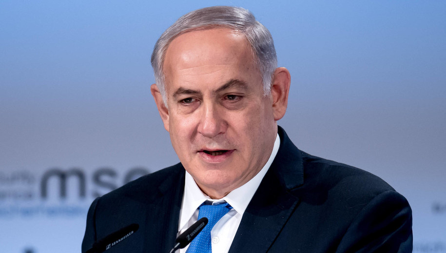 Beniamin Netanjahu /SVEN HOPPE /PAP/EPA